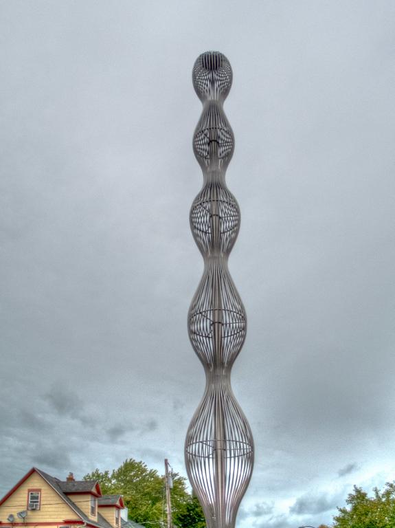 New Darning Needle sculpture near Village Gate