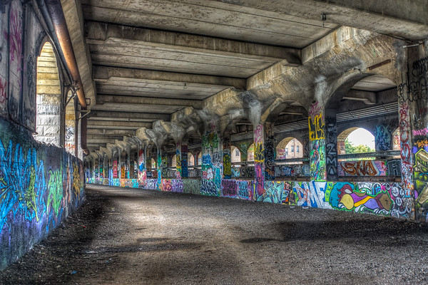 Rochester Abandoned Subway 2013