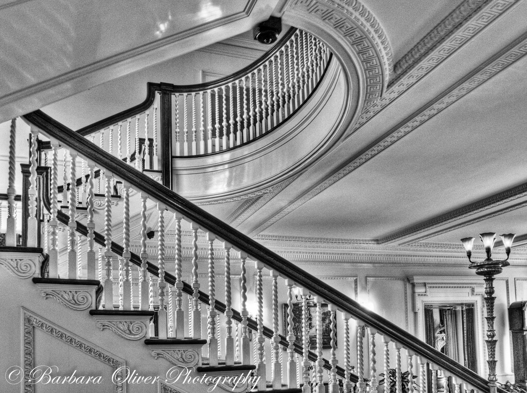 Main Stairwell in Eastman House