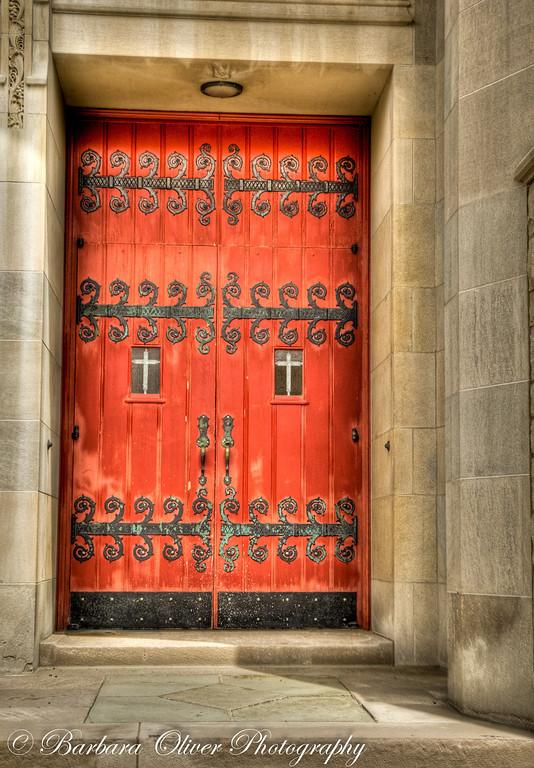 Asbury Methodist Church Doorway