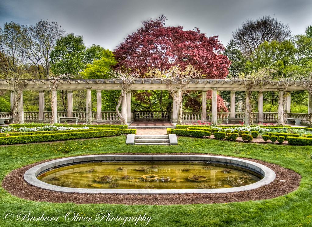 George Eastman House Gardens in Spring