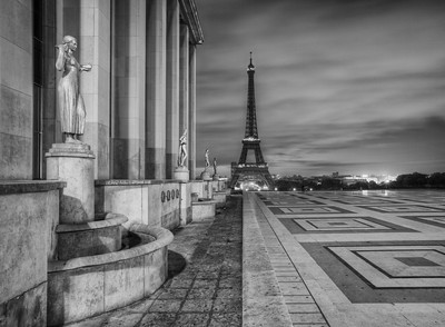 Trocadero and the Tower