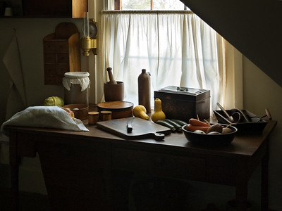 Kitchen in Abraham Lincoln's Home