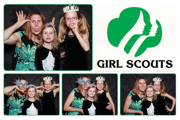 Girl Scout Tea Party