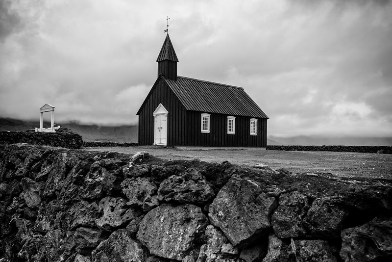 The one of a kind Blank Church