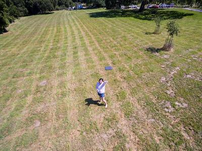 Aerial Selfie. Augustin Bernal Park - Pleasanton, CA, USA