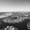 Aerial Scenery. Discovery Bay, CA, USA