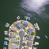 Aerial Scenery. Sand Point Court. Discovery Bay, CA, USA
