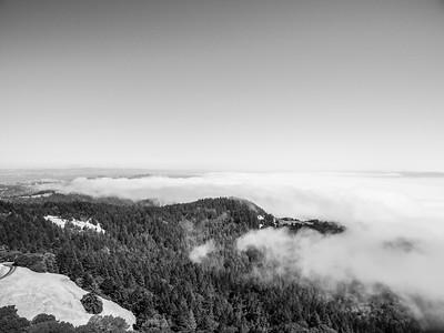 Aerial Scenery. Mt. Tamalpais State Park - Marin County, CA, USA