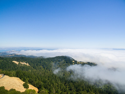 Aerial Scenery. Mt. Tamalpais State Park - Marin County, CA, USA
