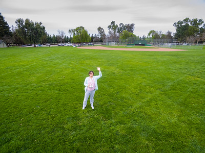 Aerial Selfie. Ken Mercer Sports Park - Pleasanton, CA, USA
