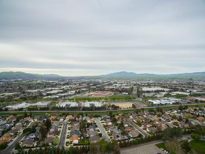 Aerial Scenery. Ken Mercer Sports Park - Pleasanton, CA, USA