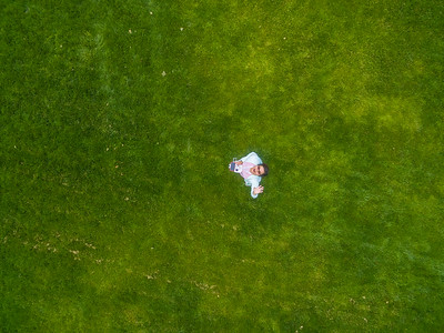 Aerial Selfie. Ken Mercer Sports Park - Pleasanton, CA, USA