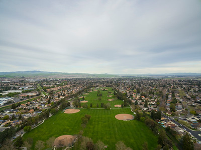 Aerial Scenery. Ken Mercer Sports Park - Pleasanton, CA, USA