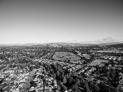 Aerial Scenery. Pleasanton Golf Center - Pleasanton, CA, USA