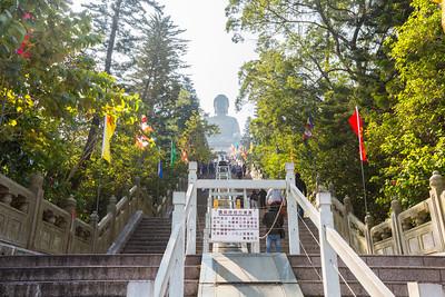 Po Lin Monastery (宝莲禅寺) and Tian Tan Buddha (天壇大佛) - Hong Kong, China S.A.R. (香港特区)