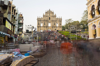 Ruins of St. Paul's - Macau, China S.A.R (澳门特区)