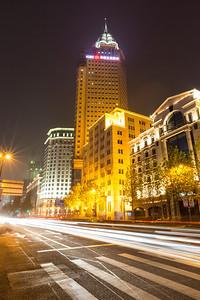 The Bank of China. The Bund (外滩) - Shanghai, China (上海,中国)