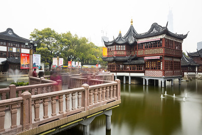 Shanghai Town God's Temple (上海城隍庙)/Yu Garden (豫园) - Shanghai, China (上海,中国)