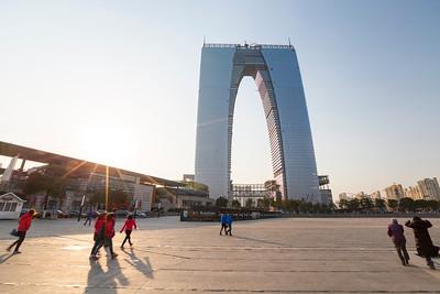 The Gate to the East (东方之门) - Suzhou, Jiangsu, China (苏州,江苏,中国)