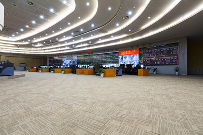Control Room. Suzhou Rail Transit. Suzhou, Jiangsu, China (苏州,江苏,中国)