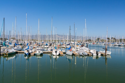 Yachts & Boats. Berkeley Marina - Berkeley, CA, USA