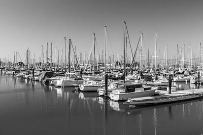 Yachts & Boats. Berkeley Marina - Berkeley, CA, USA