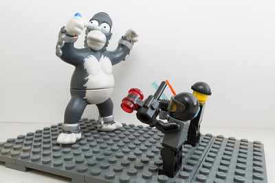 Close up photography of Lego