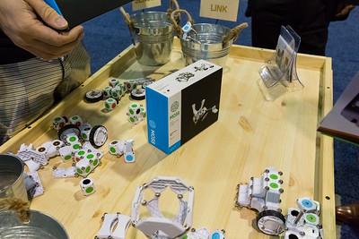 Moss by Modular Robotics. Consumer Electronics Show (CES) 2015 - Las Vegas, NV, USA