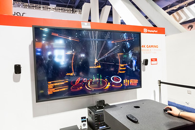 4K Gaming. Consumer Electronics Show (CES) 2015 - Las Vegas, NV, USA