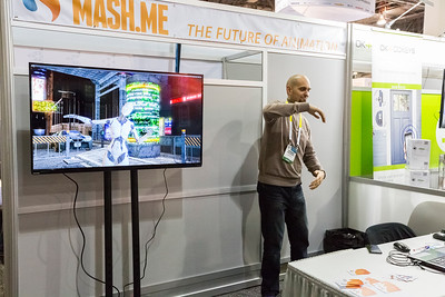 Mash.Me Animation Technology. Consumer Electronics Show (CES) 2015 - Las Vegas, NV, USA