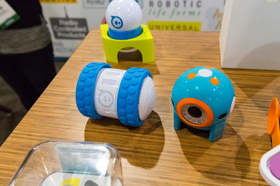 Ollie the Robot. Consumer Electronics Show (CES) 2015 - Las Vegas, NV, USA