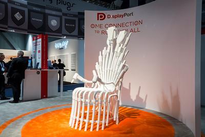 DisplayPort. Consumer Electronics Show (CES) 2015 - Las Vegas, NV, USA