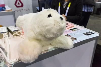 Therapeutic Robots. Consumer Electronics Show (CES) 2015 - Las Vegas, NV, USA