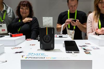 Zink Zero Ink. Polaroid Booth. Consumer Electronics Show (CES) 2018 - Las Vegas, NV, USA
