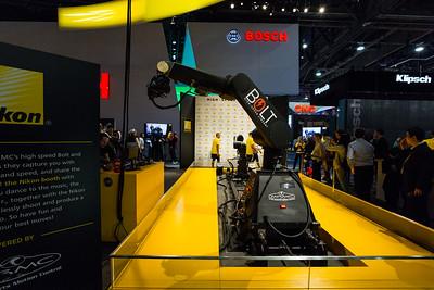 Bolt High Speed Cinebot. Nikon Booth. Consumer Electronics Show (CES) 2018 - Las Vegas, NV, USA