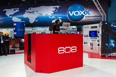 DJ Nixx. 808 Studio Quality Audio Equipment. Consumer Electronics Show (CES) 2018 - Las Vegas, NV, USA
