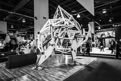 Robot. Consumer Electronics Show (CES) 2018 - Las Vegas, NV, USA