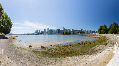 Panorama. Stanley Park - Vancouver, BC, Canada