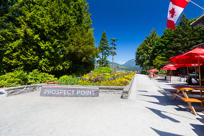 Prospect Point. Stanley Park - Vancouver, BC, Canada