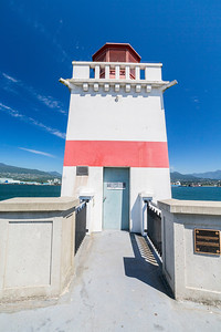 Brockton Point Lighthouse. Stanley Park - Vancouver, BC, Canada