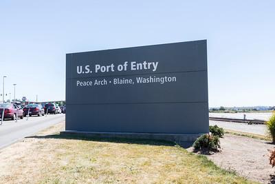 Peach Arch Border Crossing