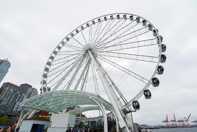 Pier 57. Downtown Seattle, WA, USA