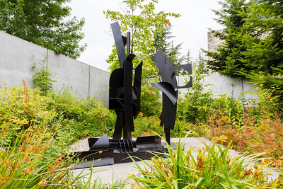 Sky Landscape I by Louise Nevelson. Olympic Sculpture Park. Downtown Seattle, WA, USA