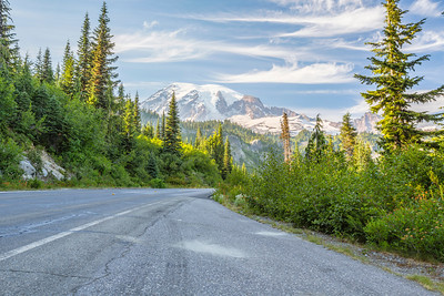 HDR Composition. Mount Rainier National Park - Washington, USA