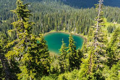 Sunrise Lake. Mount Rainier National Park - Washington, USA