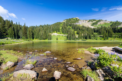 Tipsoo Lake. Mount Rainier National Park - Washington, USA