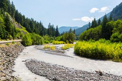 White River. Mount Rainier National Park - Washington, USA