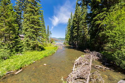 Odell Creek. Deschutes National Forest. Crescent, OR, USA