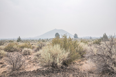 HDR Composition. Lava Beds National Monument - Tulelake, CA, USA